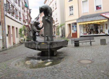 Brunnen in bernkastel